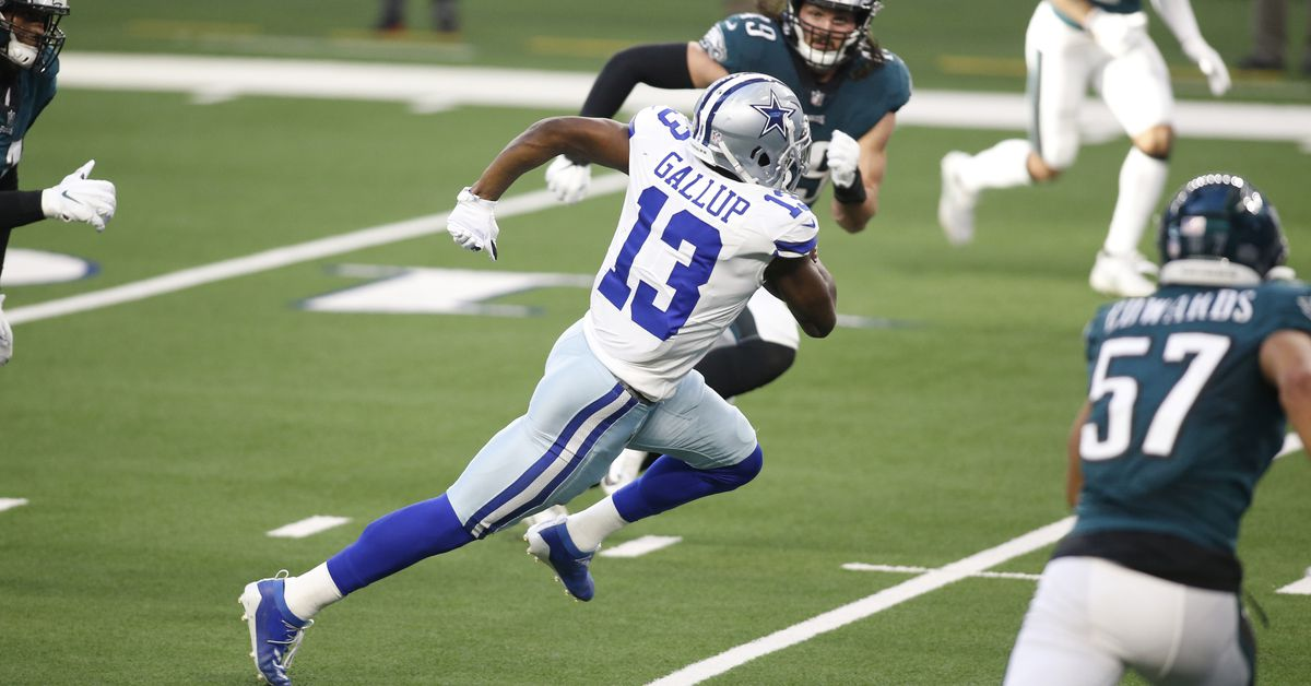 Michael Gallup's future at the Star is a question the Cowboys must answer