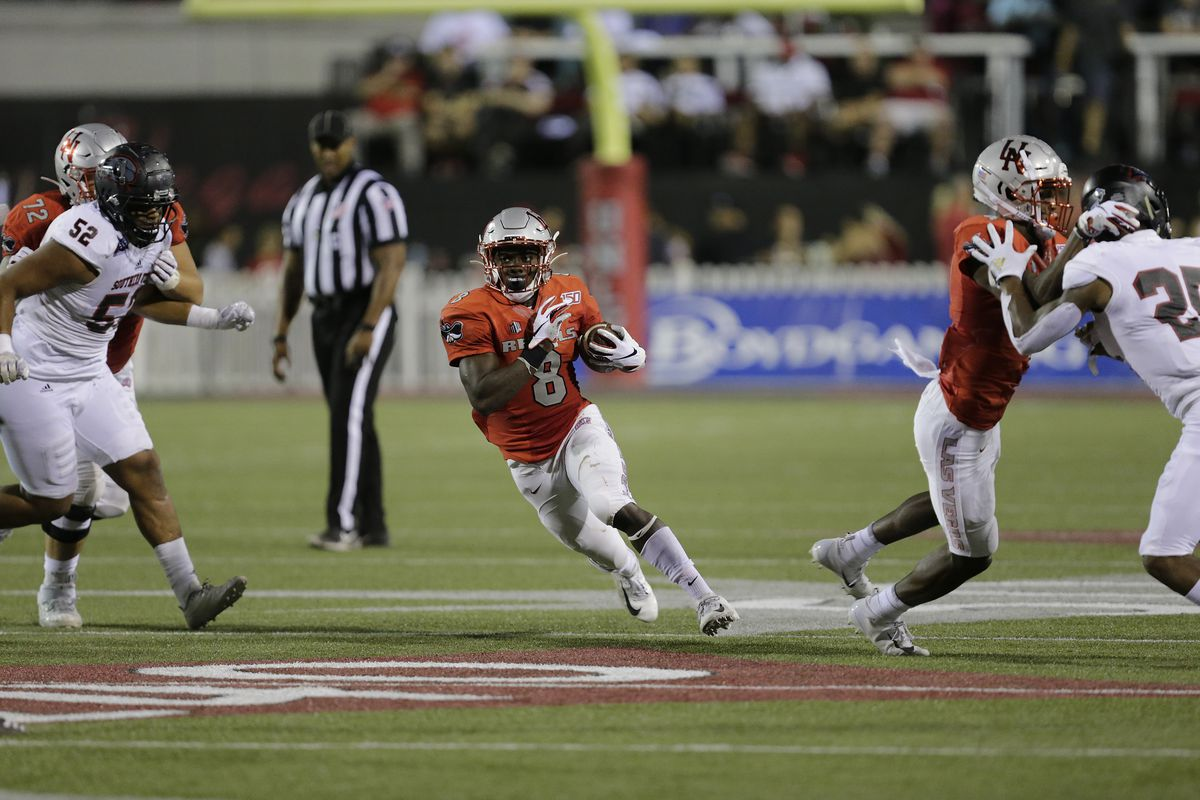 COLLEGE FOOTBALL: AUG 31 Southern Utah at UNLV