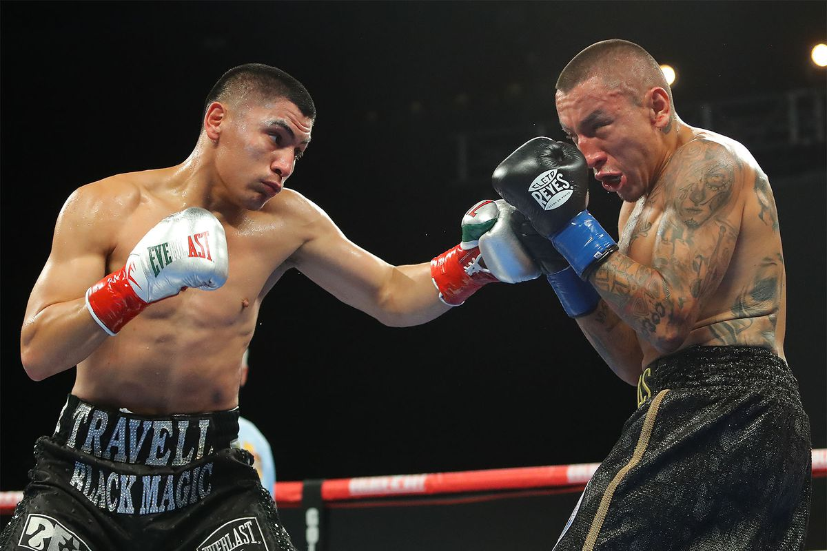 Vergil Ortiz Jr dominates Samuel Vargas en route to stoppage - Bad ...