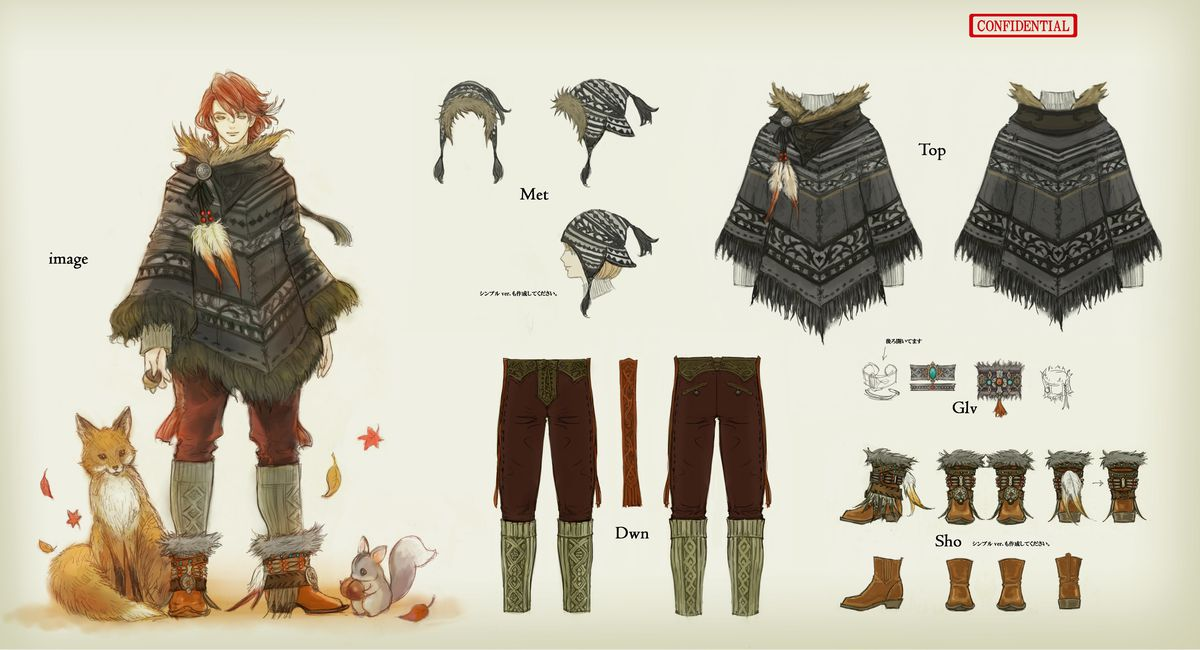 Final Fantasy 14 S Fantastic Fashions And How They Came To Be Polygon
