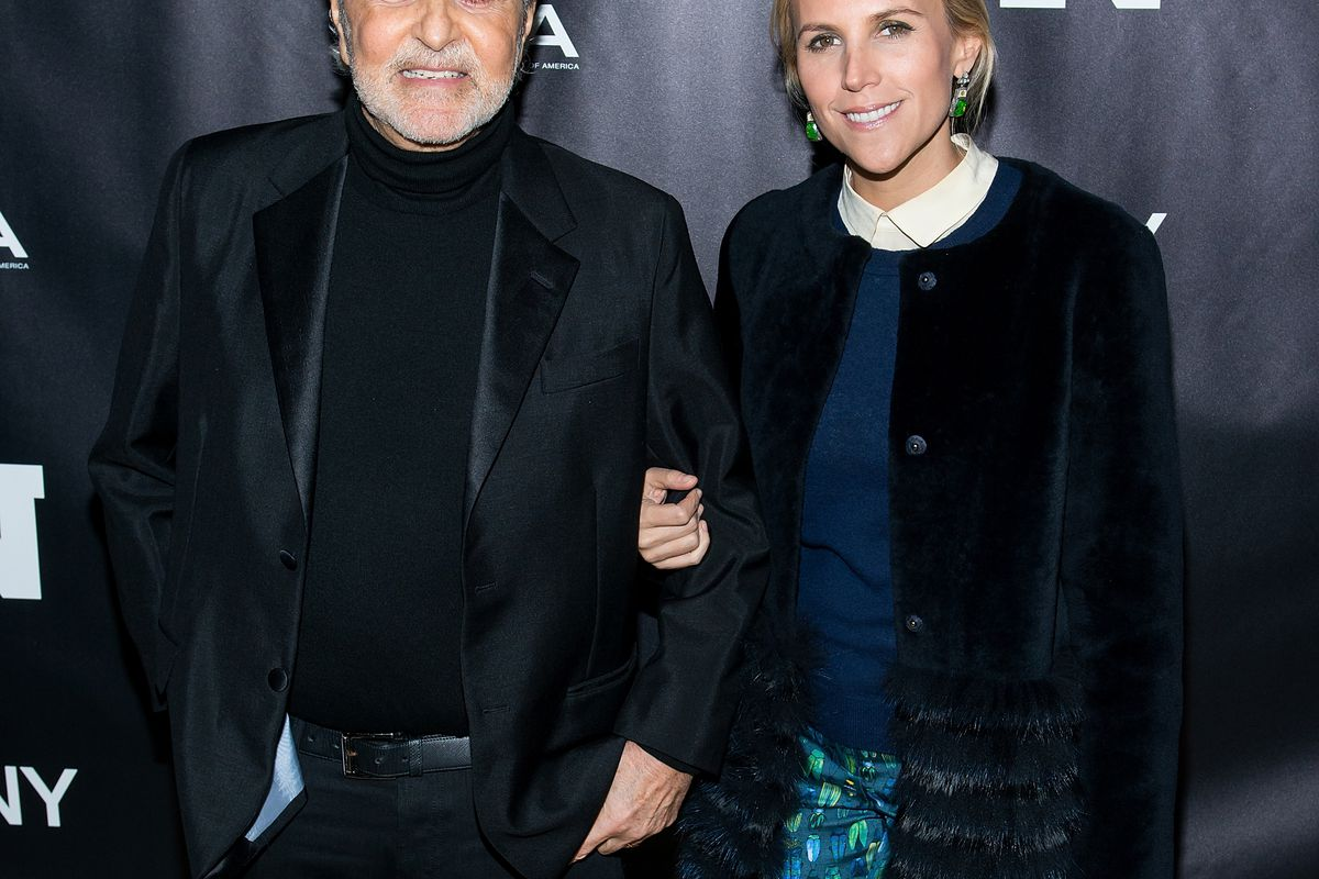 Camuto and Burch in 2013. Photo: Getty