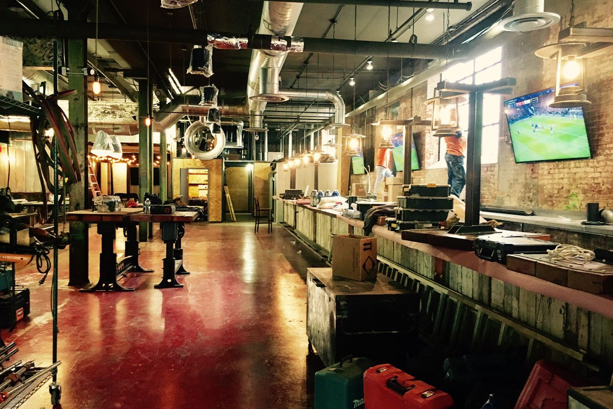 Franklin Hall Nears Opening, Teases Menu - Eater DC