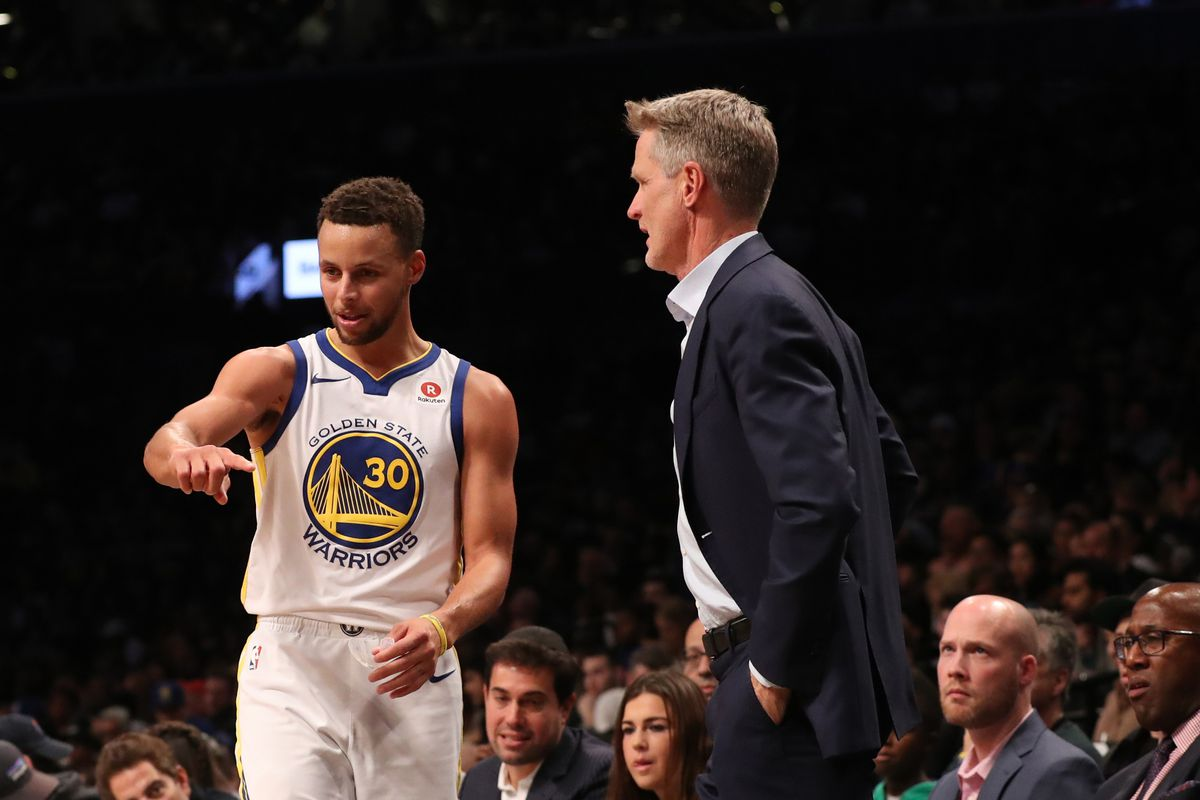 cfbcad1b9a96 Steve Kerr says Steph Curry will miss first round of NBA playoffs ...