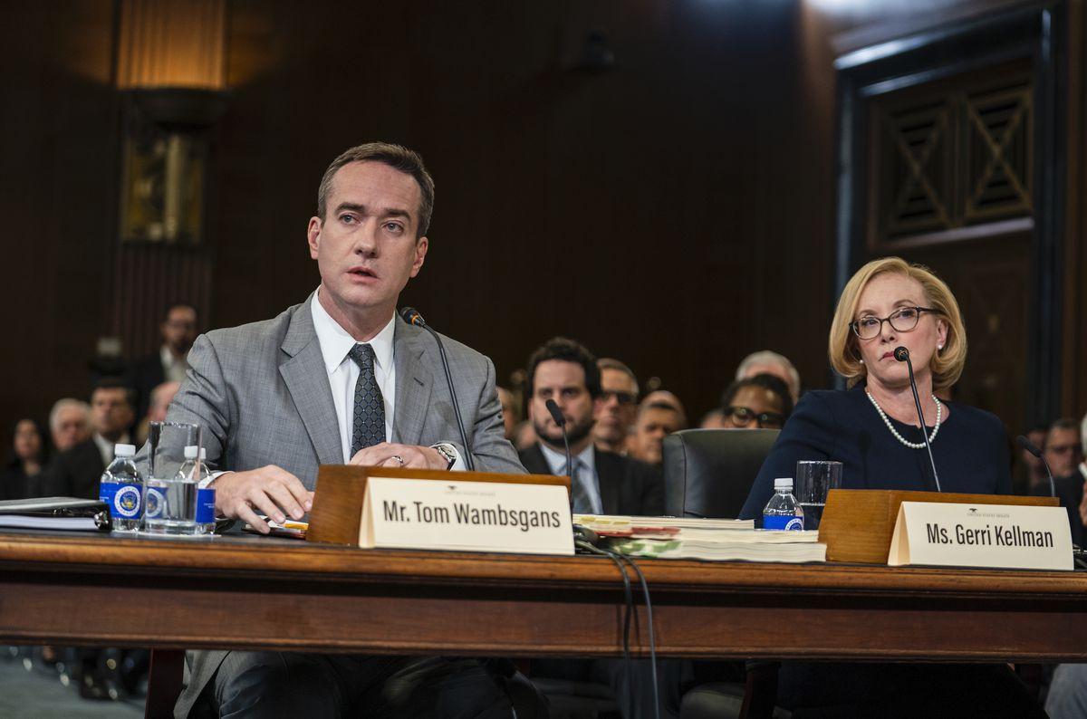 Tom and Gerri testify before Congress.