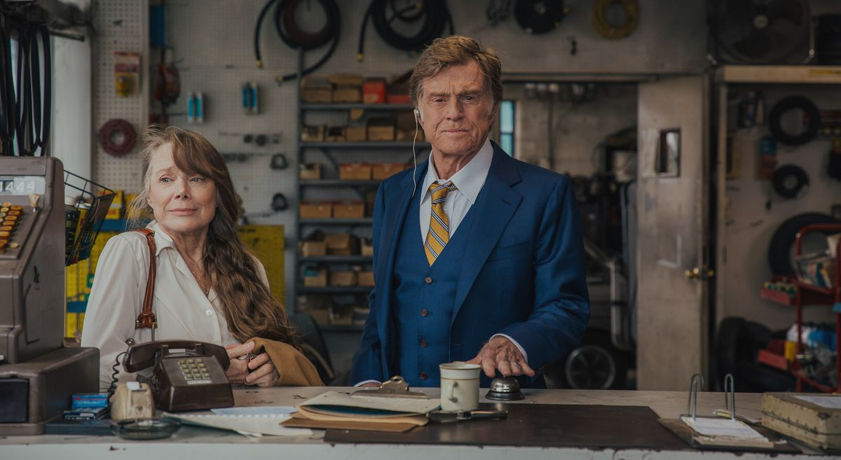 Sissy Spacek and Robert Redford star together in The Old Man and the Gun.