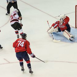 Holtby Saves on Cammalleri