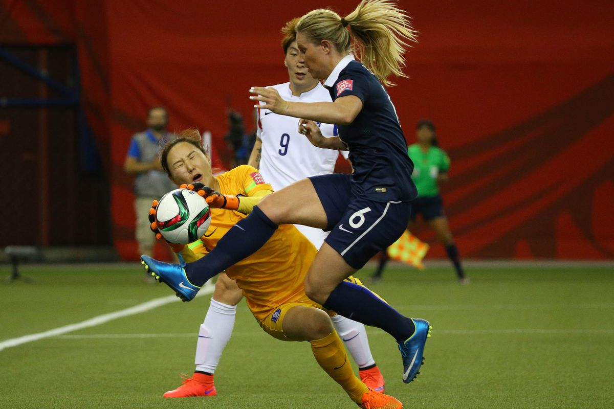 French international Amandine Henry is expected to make her first appearance for Portland Thorns FC in Friday's match.