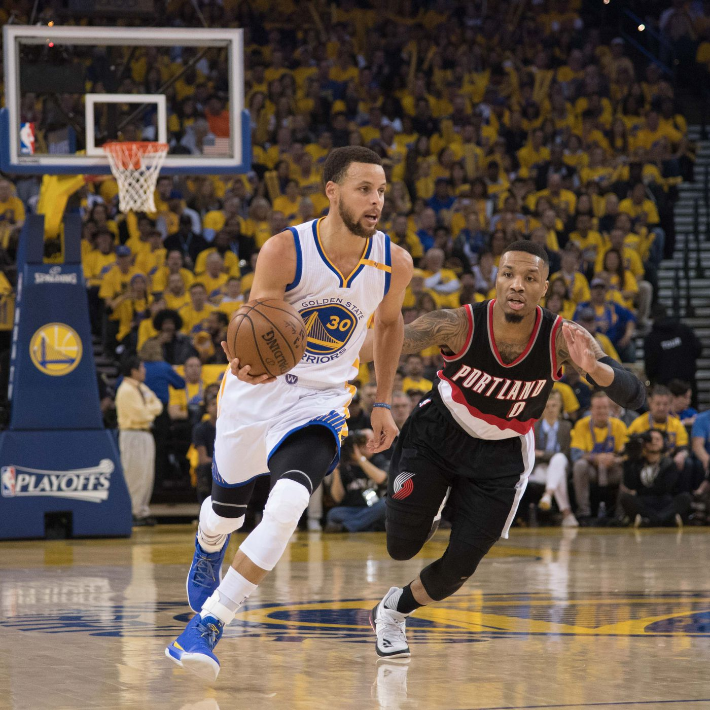 4fed1f1d2 How the Golden State Warriors and Portland Trail Blazers Diverged ...