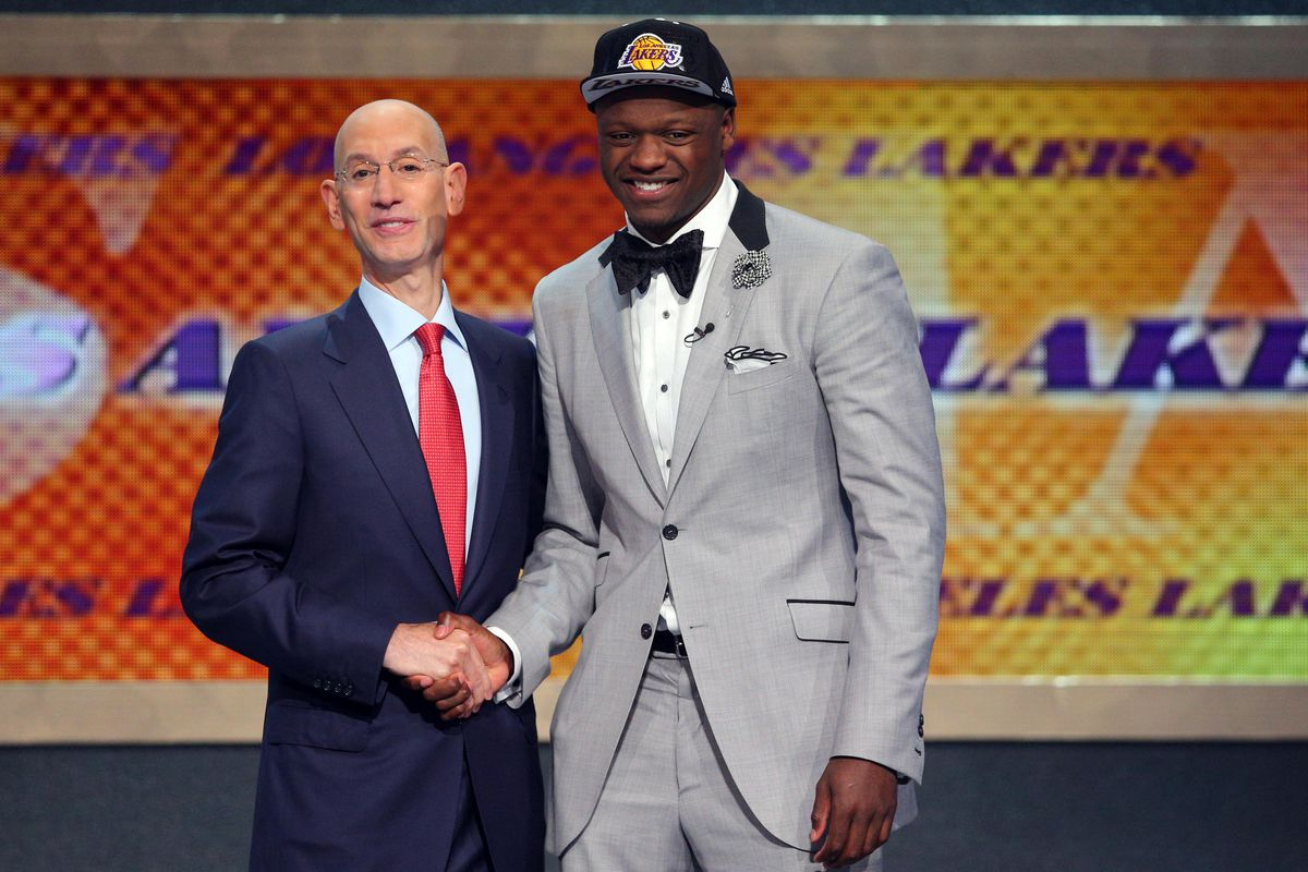 Image result for 2014 lakers draft