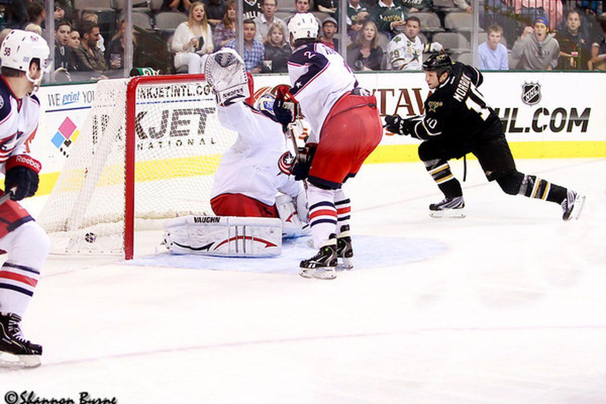 Boom!  (Photo Credit: www.myhockeyshots.com)