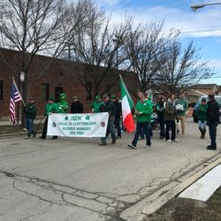 Marchers take part in the Clear Ridge Social Athletic Club Archer Avenue St. Patrick's Day Parade in Garfield Ridge | Provided photo