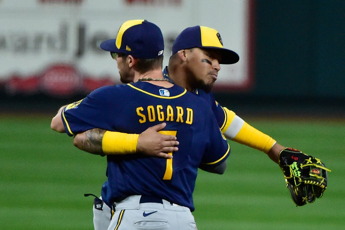 Brewers decline option on Eric Sogard, officially declining all team options for 2021 - Brew Crew Ball