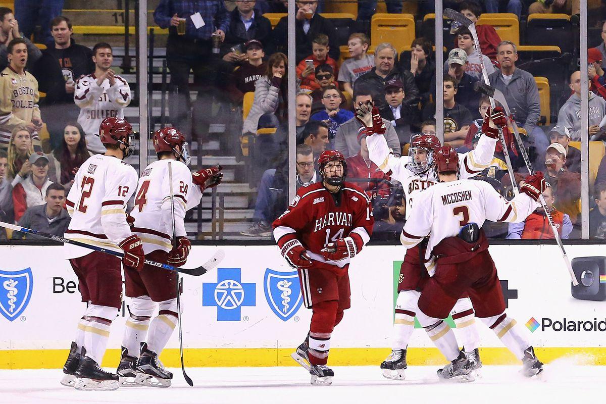 Ncaa Hockey Tournament Boston College Vs Harvard 8 Pm Espnu