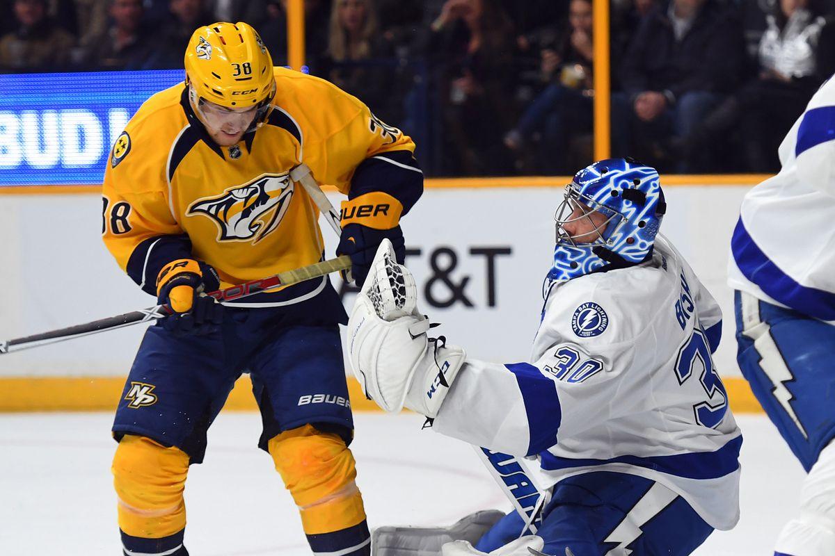 NHL: Tampa Bay Lightning at Nashville Predators