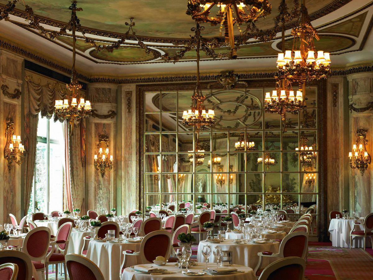Michelin-starred restaurant The Ritz