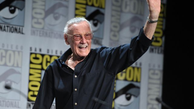 Stan Lee speaks during San Diego Comic-Con 2011.