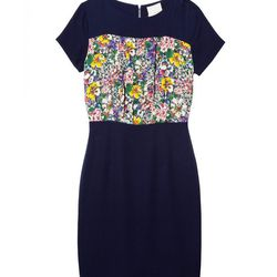 <b>Band of Outsiders</b> floral panel dress, <b>$229</b> (Original price: $545; First markdown: $381.50)