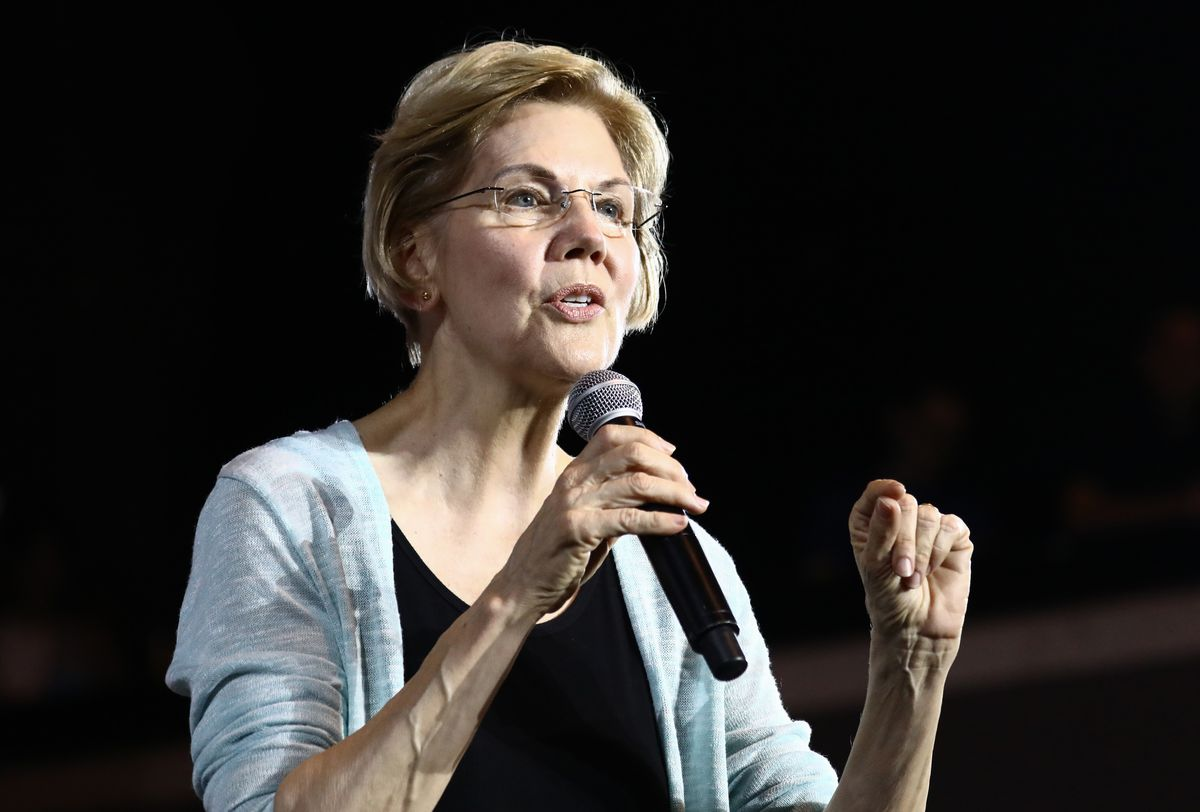 Presidential Candidate Elizabeth Warren Holds Town Hall In Los Angeles