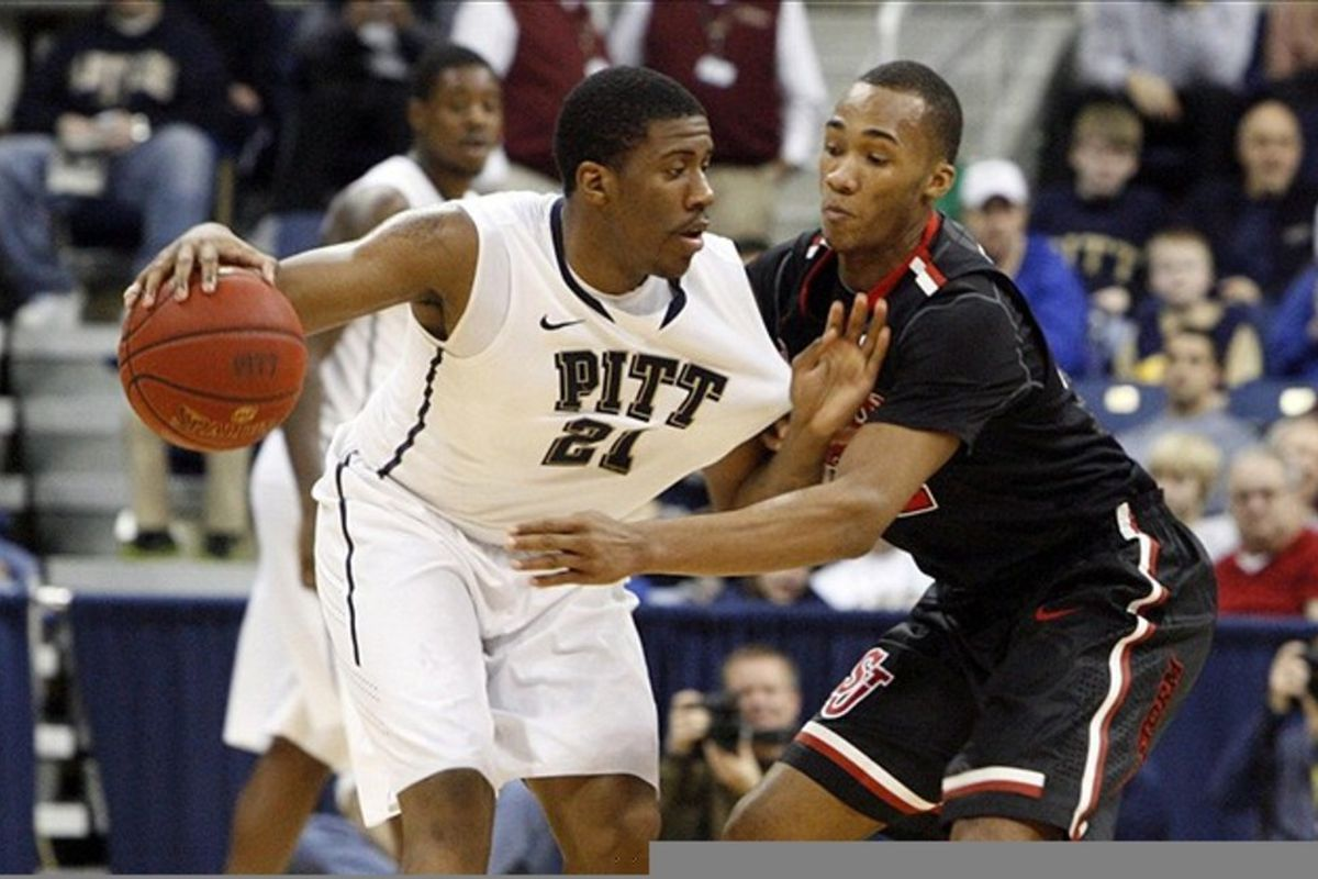St. John's could face Pittsburgh again in the first round of the NCAA Tournament.