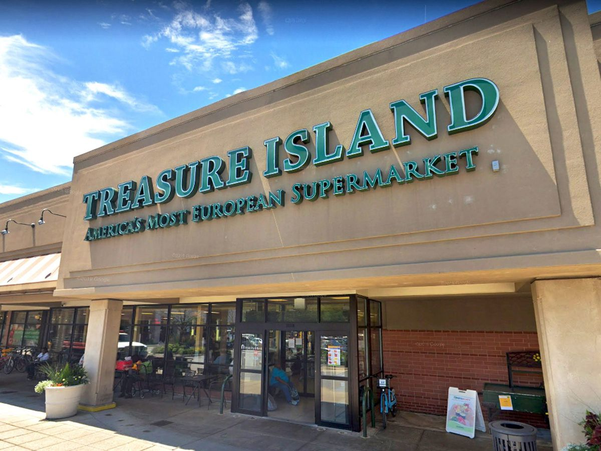 Treasure Island closed its final six stores, including this location in Hyde Park, in October. A Trader Joe's will move into the space.   Google Streetview