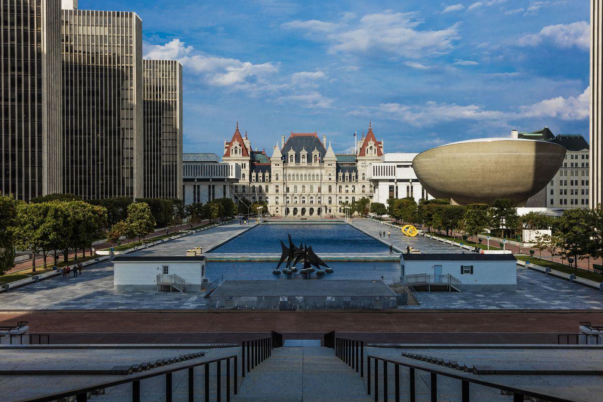 New York, Albany, New York State Capitol