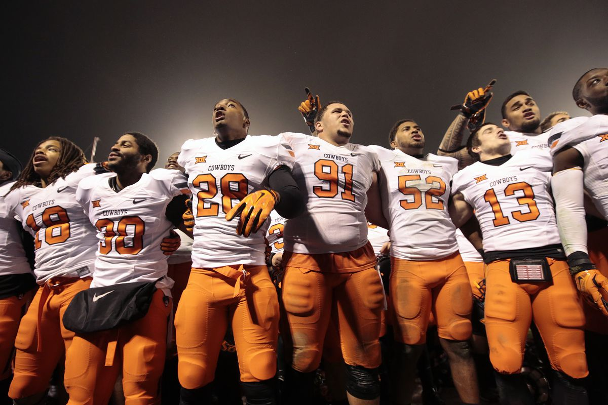 The Oklahoma State Cowboys will face off against Washington in the Cactus Bowl on January 2nd.