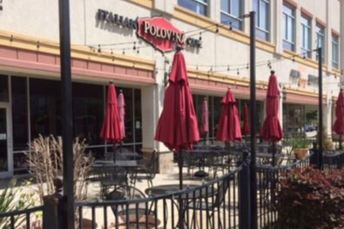 Polovina Italian Cafe on Washington Avenue