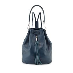 """<strong>Elizabeth and James</strong> Cynnie Leather Tassel Sling Bag, <a href=""""http://www.neimanmarcus.com/Elizabeth-and-James-CYNNIE-SLING-W-TASSEL/prod171830368/p.prod?"""">$585</a> at Neiman Marcus"""