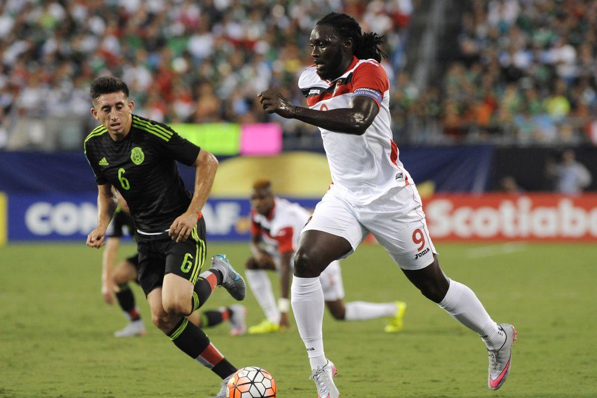 Soccer: Gold Cup-Mexico at Trinidad and Tobago