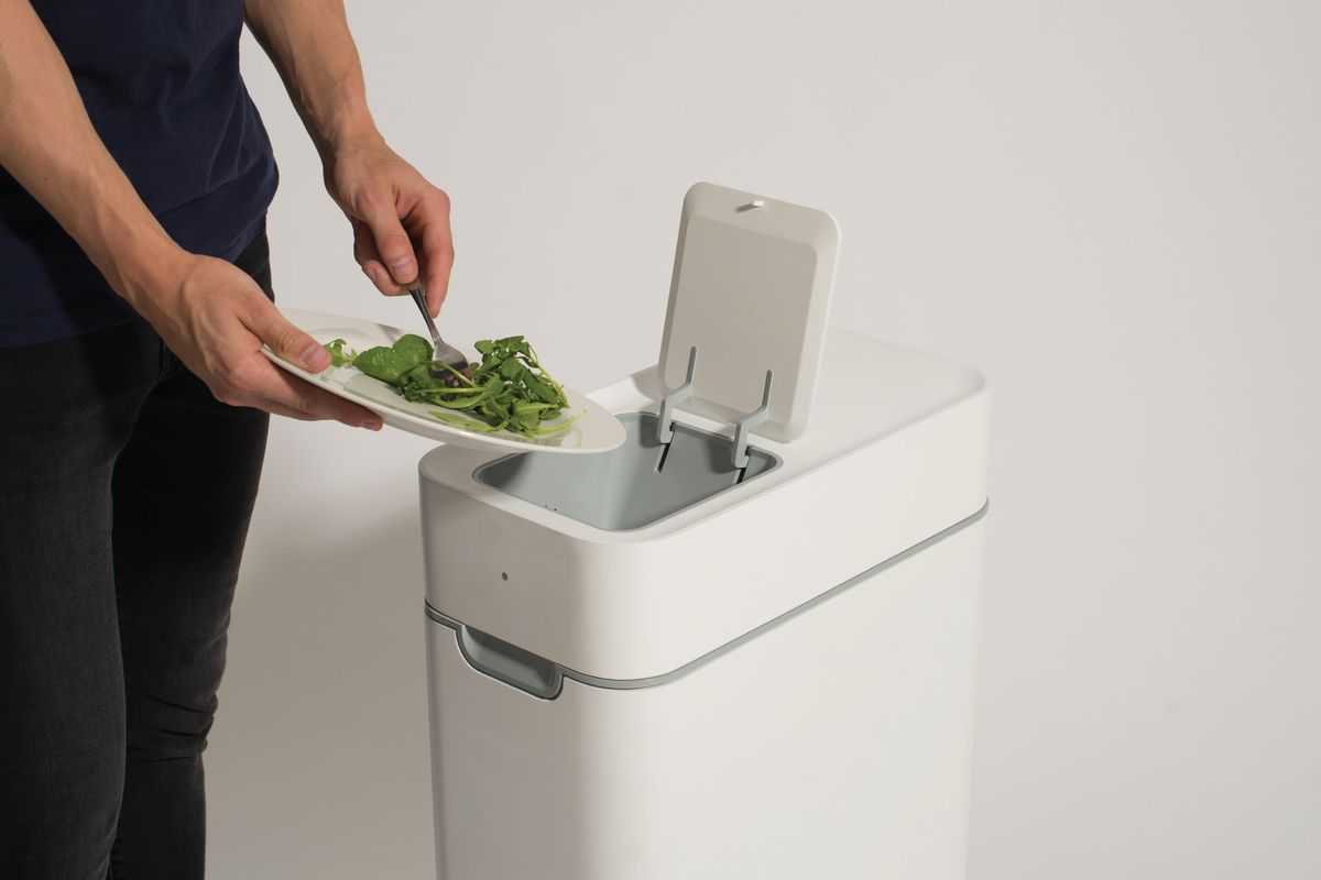 This kitchen compost bin ferments your kitchen waste - Curbed