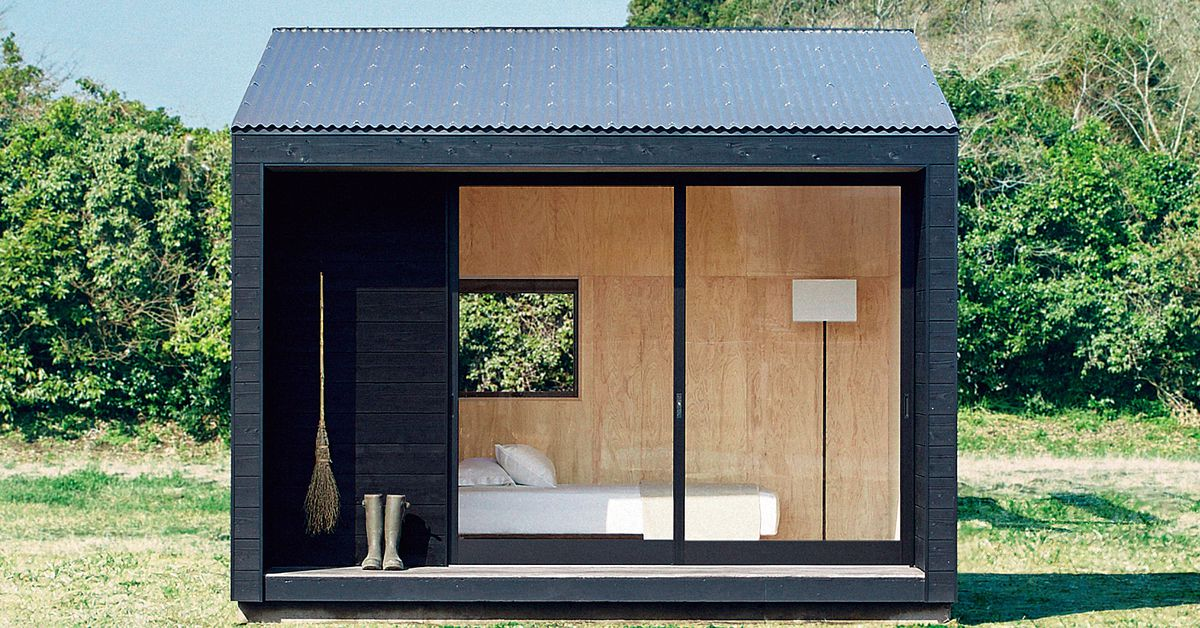 Muji Hut tiny house is now on sale in Japan for $26K