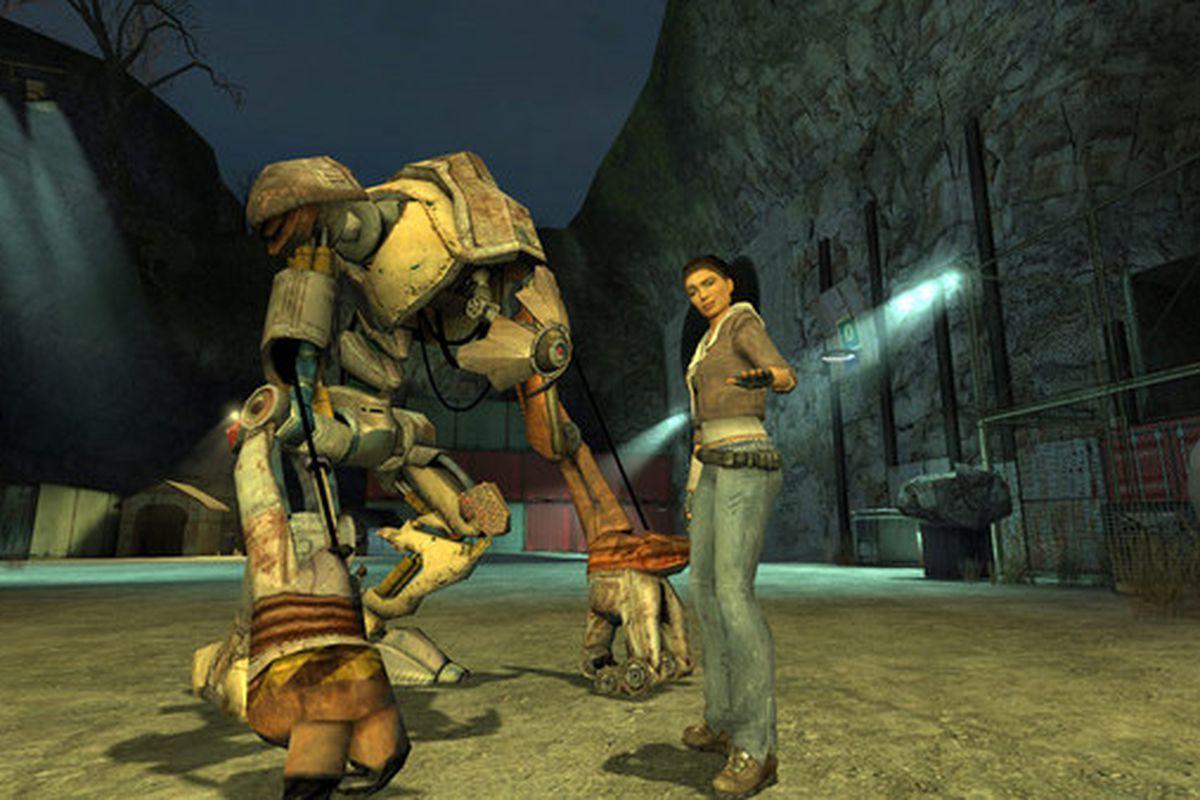 Half Life And Half Life 2 Are Free To Play On Steam Polygon