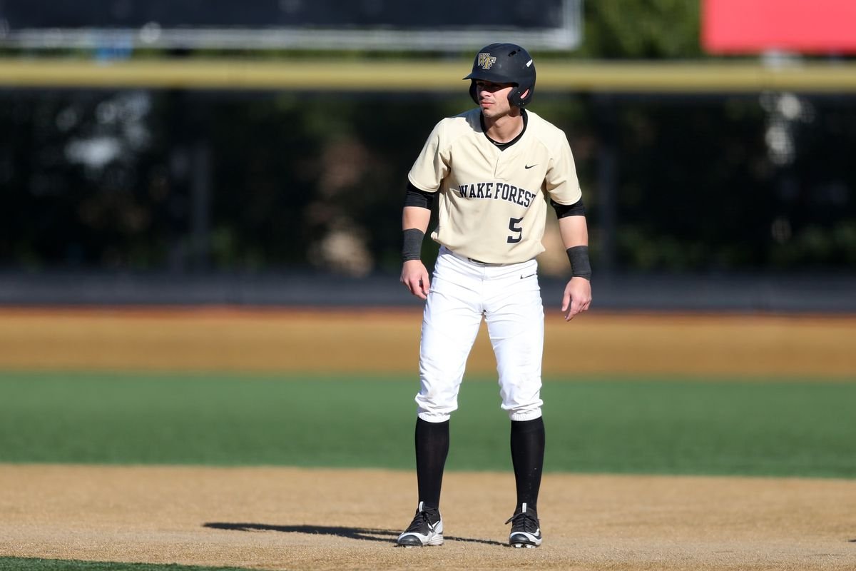 COLLEGE BASEBALL: MAR 04 UMass Lowell at Wake Forest