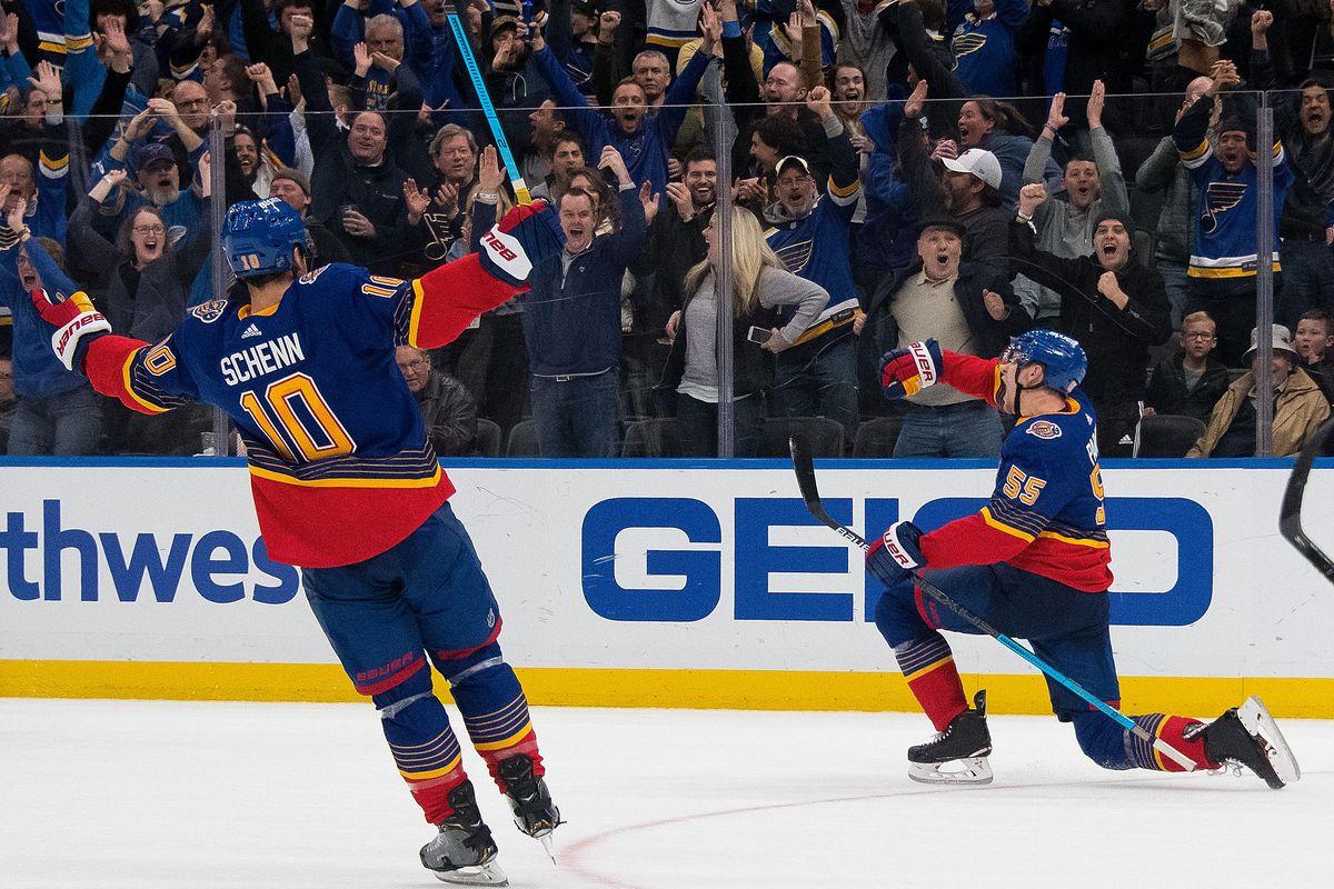 New York Islanders v St Louis Blues