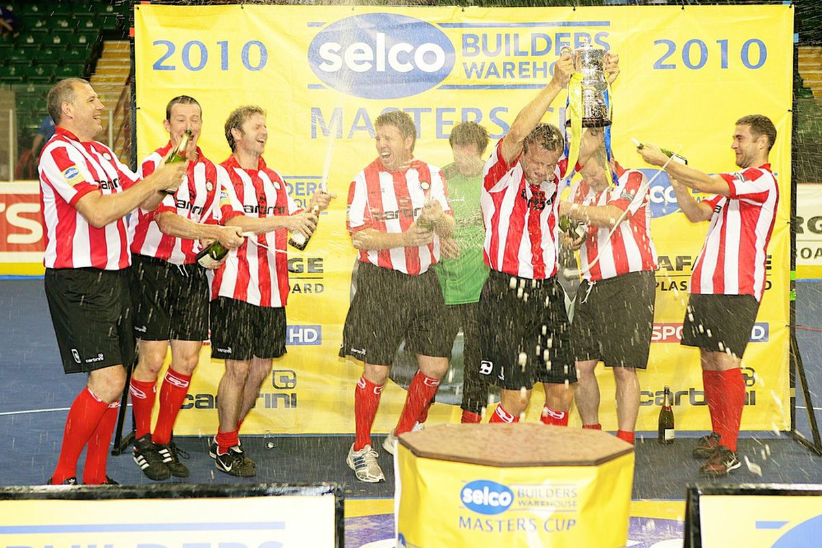 Hey, we won something... The Selco Northern Masters!