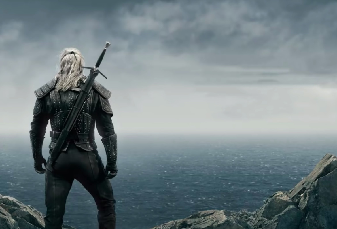 A still from The Witcher.