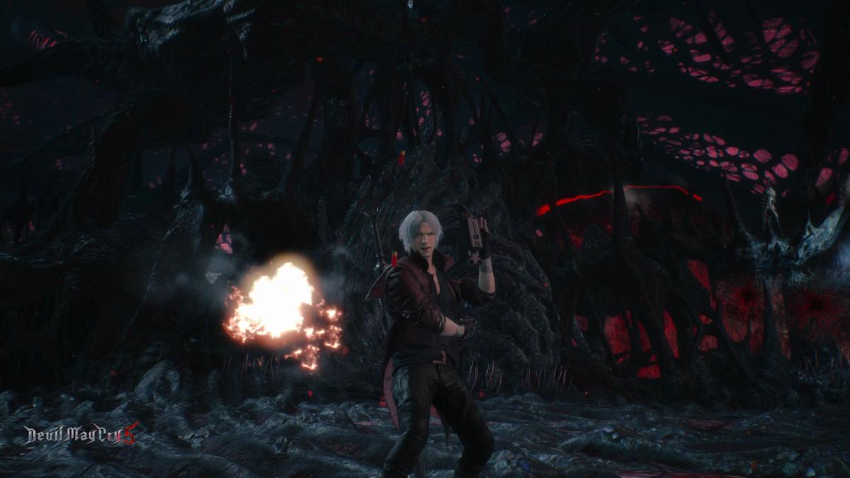 Devil May Cry 5 Dante Gunslinger Style
