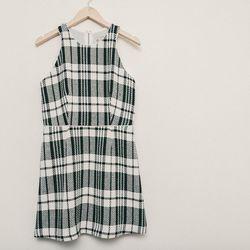 Sea plaid tank dress, $395