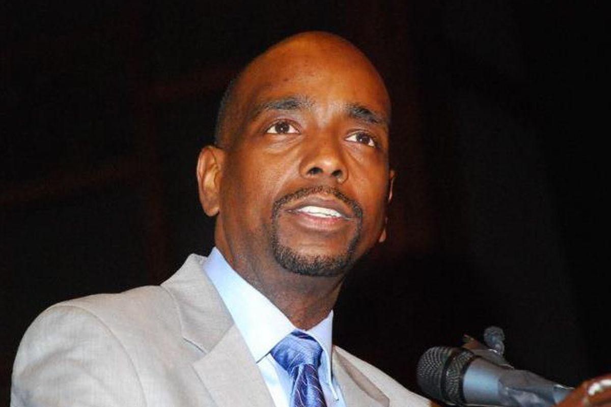 Larry Jones is the CEO of Richard Allen Preparatory Charter School in Southwest Philadelphia.