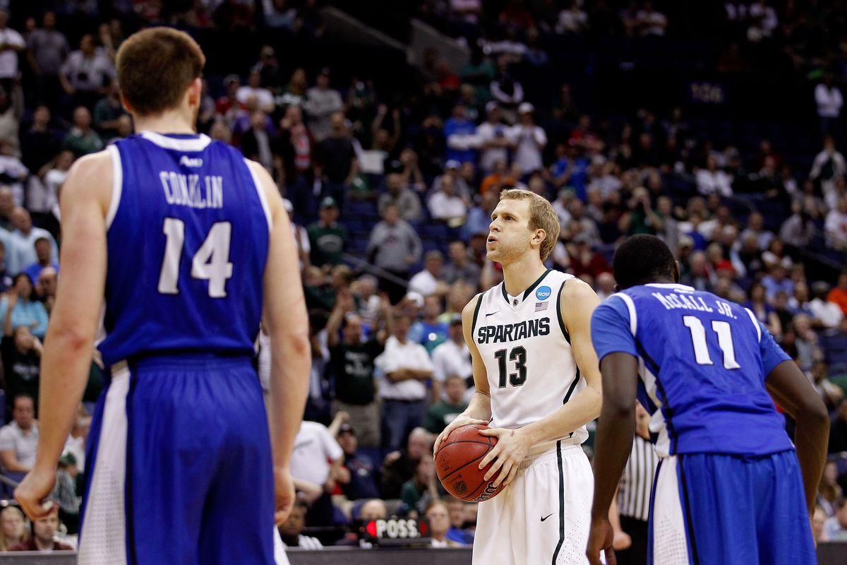 NCAA Basketball Tournament - St Louis v Michigan State