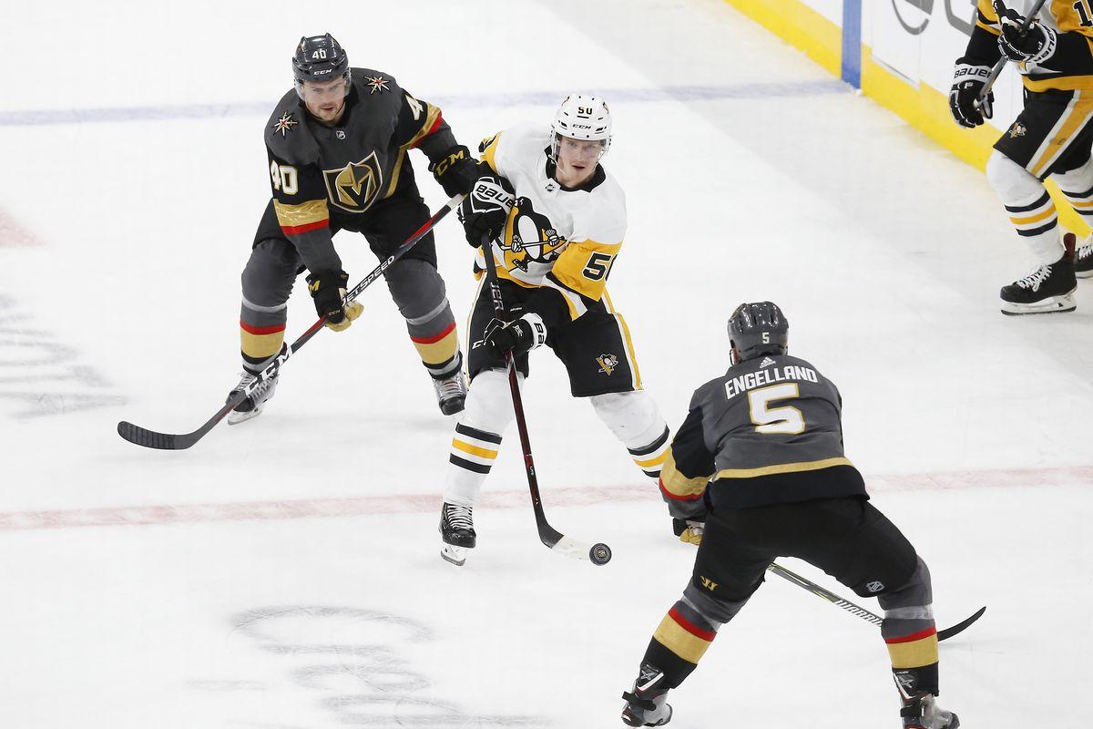 NHL: JAN 19 Penguins at Golden Knights