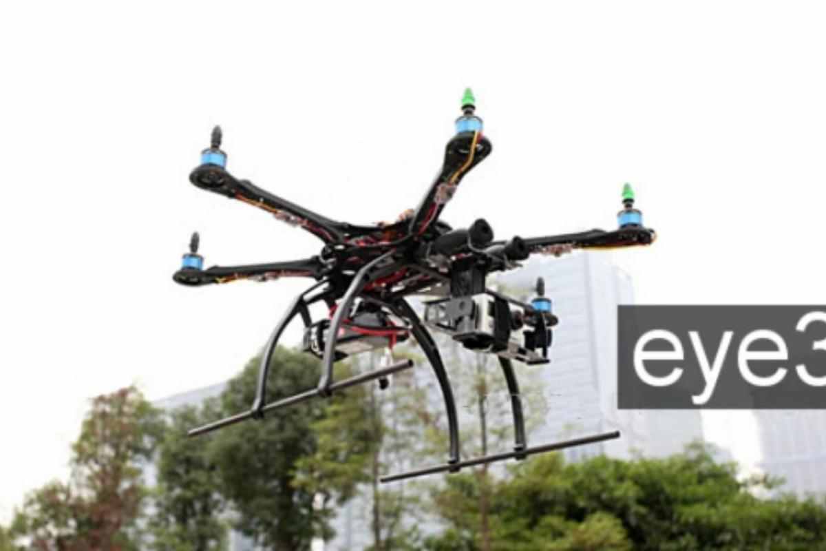 Eye3 Kickstarter flying camera platform