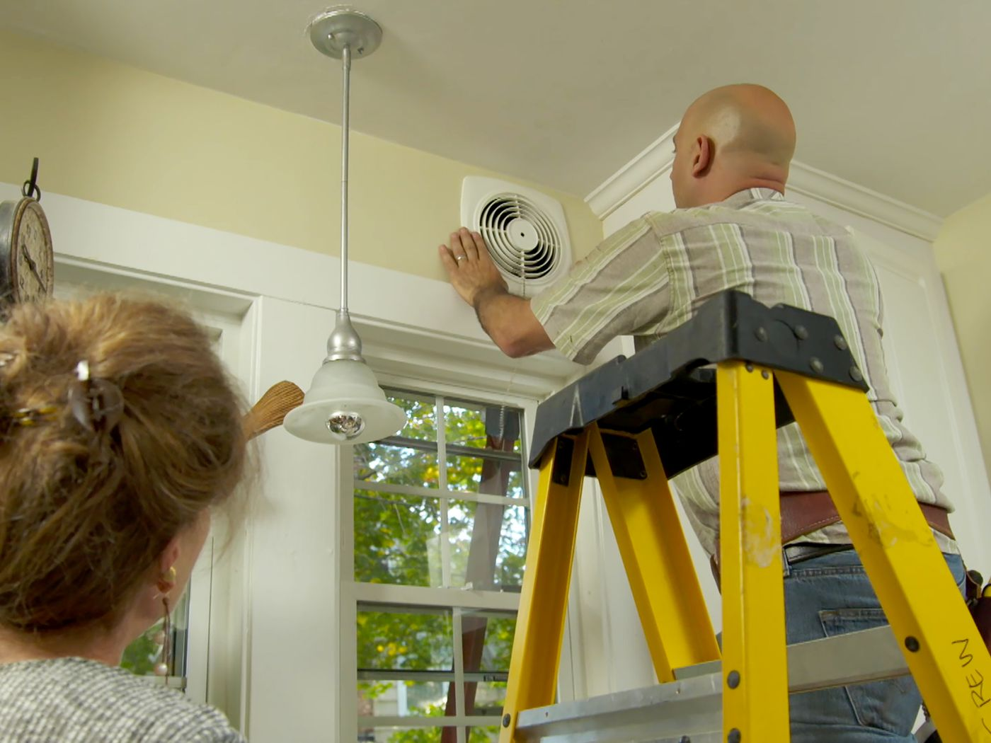 How To Install A Through The Wall Exhaust Fan This Old House