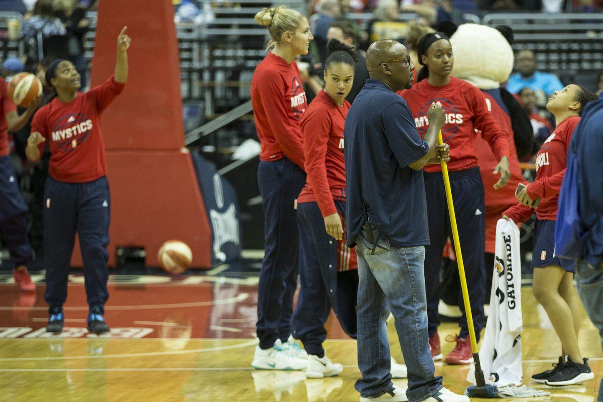 WNBA: JUL 28 Connecticut Sun at Washington Mystics