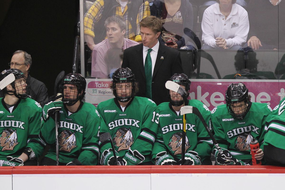 Dave Hakstol and North Dakota have been hot on the recruiting trail this week