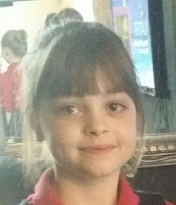 Saffie Rose Roussos, age 8, the second victim of the Manchester terror attack.