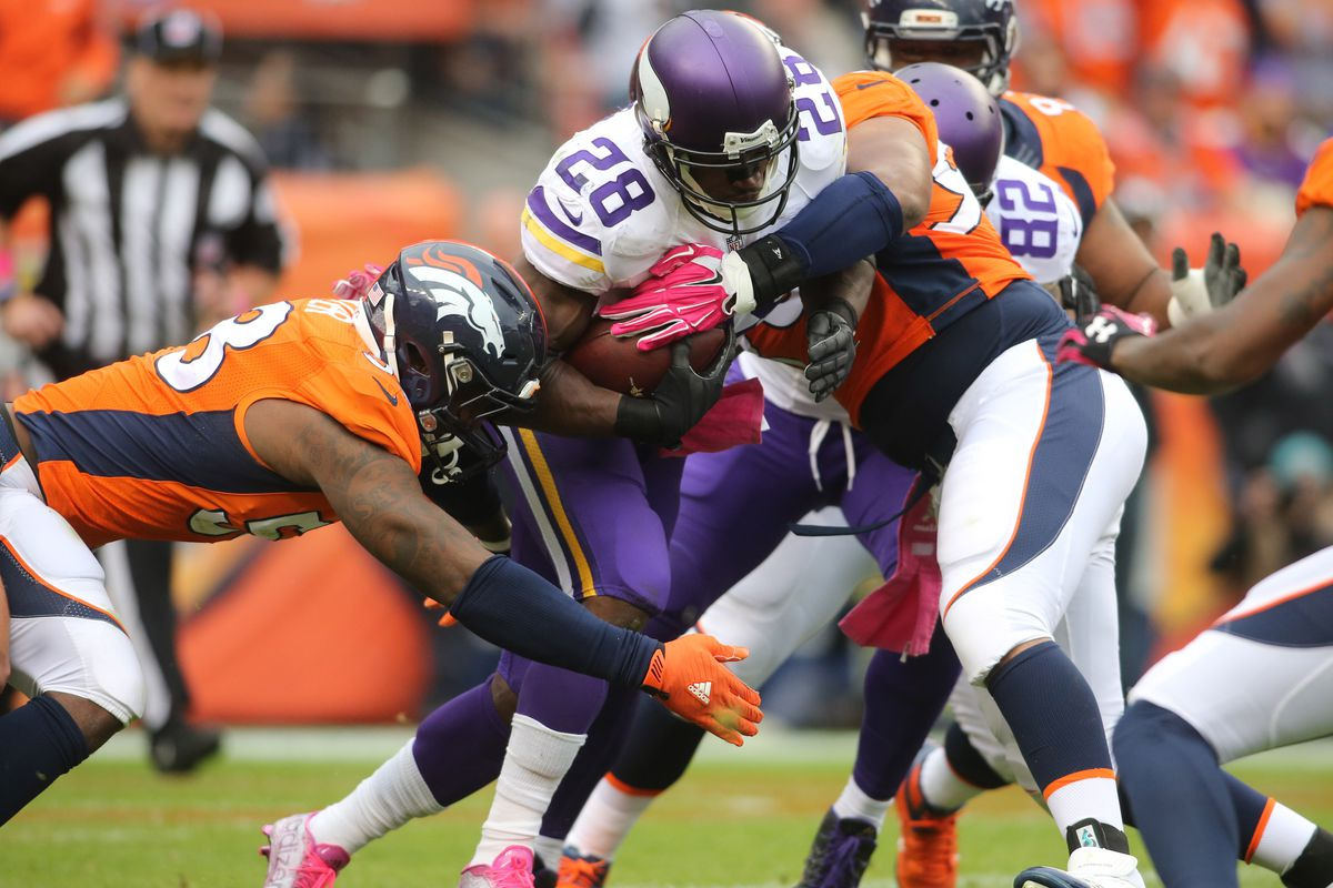 Surprise, Adrian Peterson was the highest scoring fantasy producer last week.