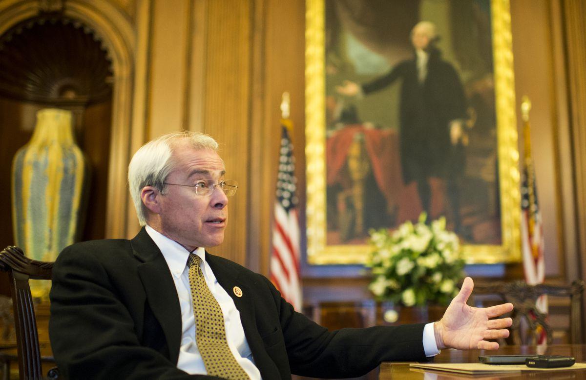 Then Rep. John Barrow (D-Ga.), at the US Capitol on December 11, 2014.