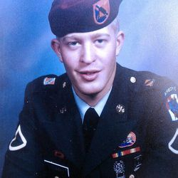 Matthew David Stewart, served in the military from 1994 to 1996. He is charged with  shooting six police officers Jan. 4, 2012, while they were serving a drug-related search warrant at his Ogden home. Ogden police officer Jared Francom was shot and killed.
