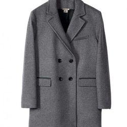Wool-blend Coat, $199